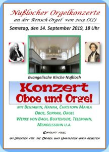 Oboe und Orgel II