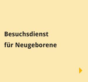 Navigationsbilder: Übersichtsseite - Begegnungen - Besuchsdienst Neugeborene